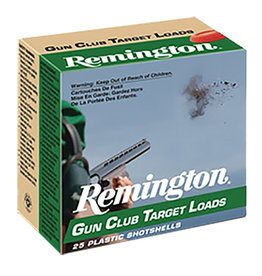 "REMINGTON AMMUNITION Remington Gun Club 12 ga -3/4"" 1 Oz. #8"