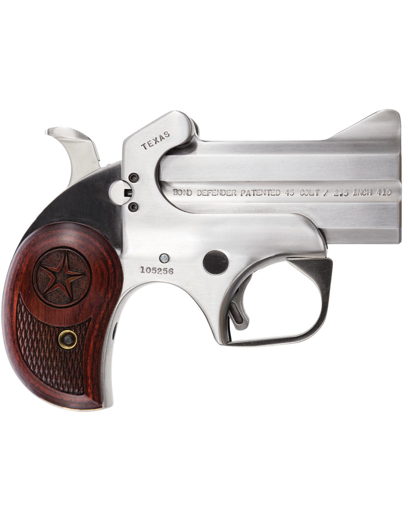 """BOND ARMS Bond Arms Texas Defender .45 LC/.410 3"""" 2 Shot"""