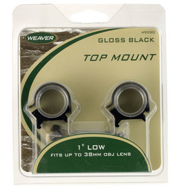 "WEAVER Weaver 49044 Detachable Top Mount 1"" Extra High"