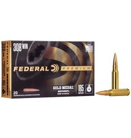 Federal Federal Gold Medal Berger .308 Win 185 Gr - 20 Count