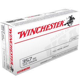 WINCHESTER AMMO Winchester .357 SIG 125 Gr FMJ - 50 Count