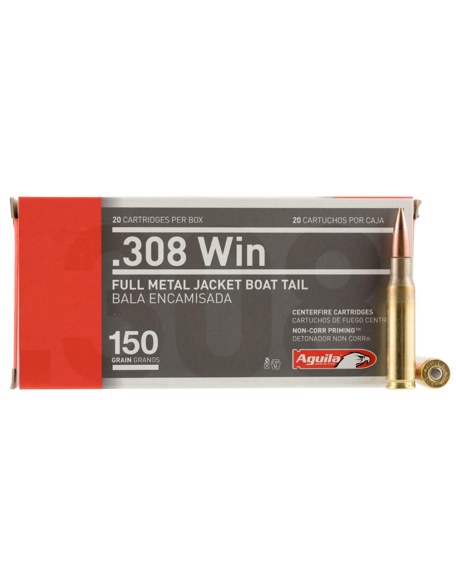 Aguila Aguila .308 Win FMJBT 150gr - 20 Count
