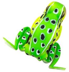Lunkerhunt Lunkerhun Popping Frog - 1/2 Oz - Leopard