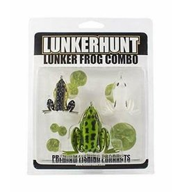 Lunkerhunt Lunker Frog Combo - 3 Pack