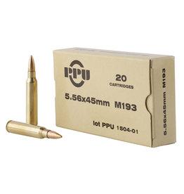 TR & Z USA PPU 5.56 55GR FMJ