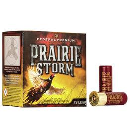 "Federal Federal Prairie Storm 12 ga 2-3/4"" 1-1/4 Oz #6 1500 FPS - 25 Count"