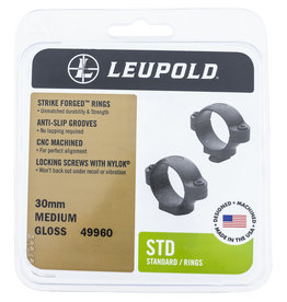 LEUPOLD Leupold STD 30mm Rings - Medium