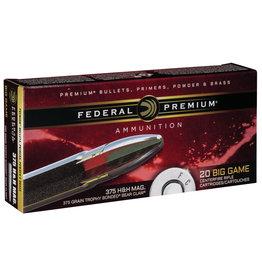Federal Federal Premium .375 H&H Mag 250 Gr - 20 Count