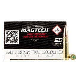 MAGTECH MagTech  300BLK 123GR FMJ  50RD