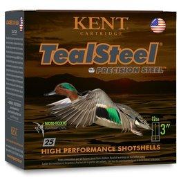 "Kent Kent KTS12336-5 Teal Steel 12 ga 3"" 1-1/4 Oz #5 1350 FPS - 25 Count"