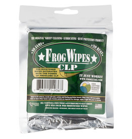"FROGLUBE Frog Wipes CLP 5 - 8x8"" Pre Moistened Wipes"