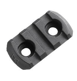 Magpul MAG589 M-LOK Polymer Rail Section, 3 Slots BLK