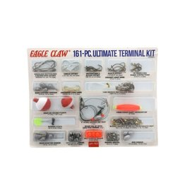 Eagle Claw 161 Piece Ultimate Terminal Kit