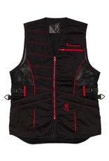Browning Ace Shooting Vest For Her - Blk/Red - LG
