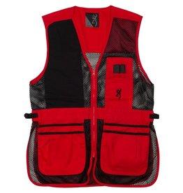 Browning Trapper Creek Vest - Red/Blk - 2XL