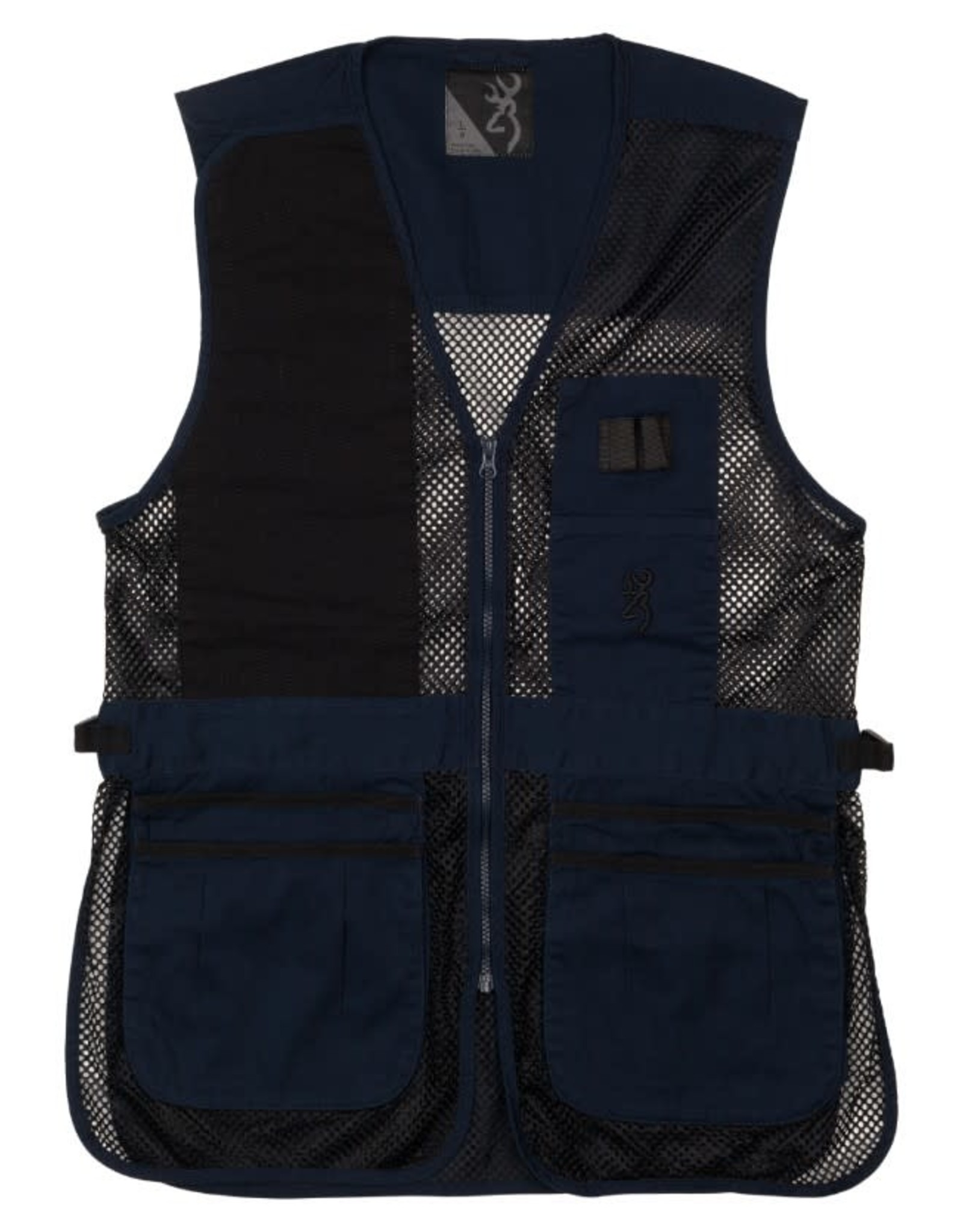 Browning Trapper Creek Vest - Navy/Blk - LG