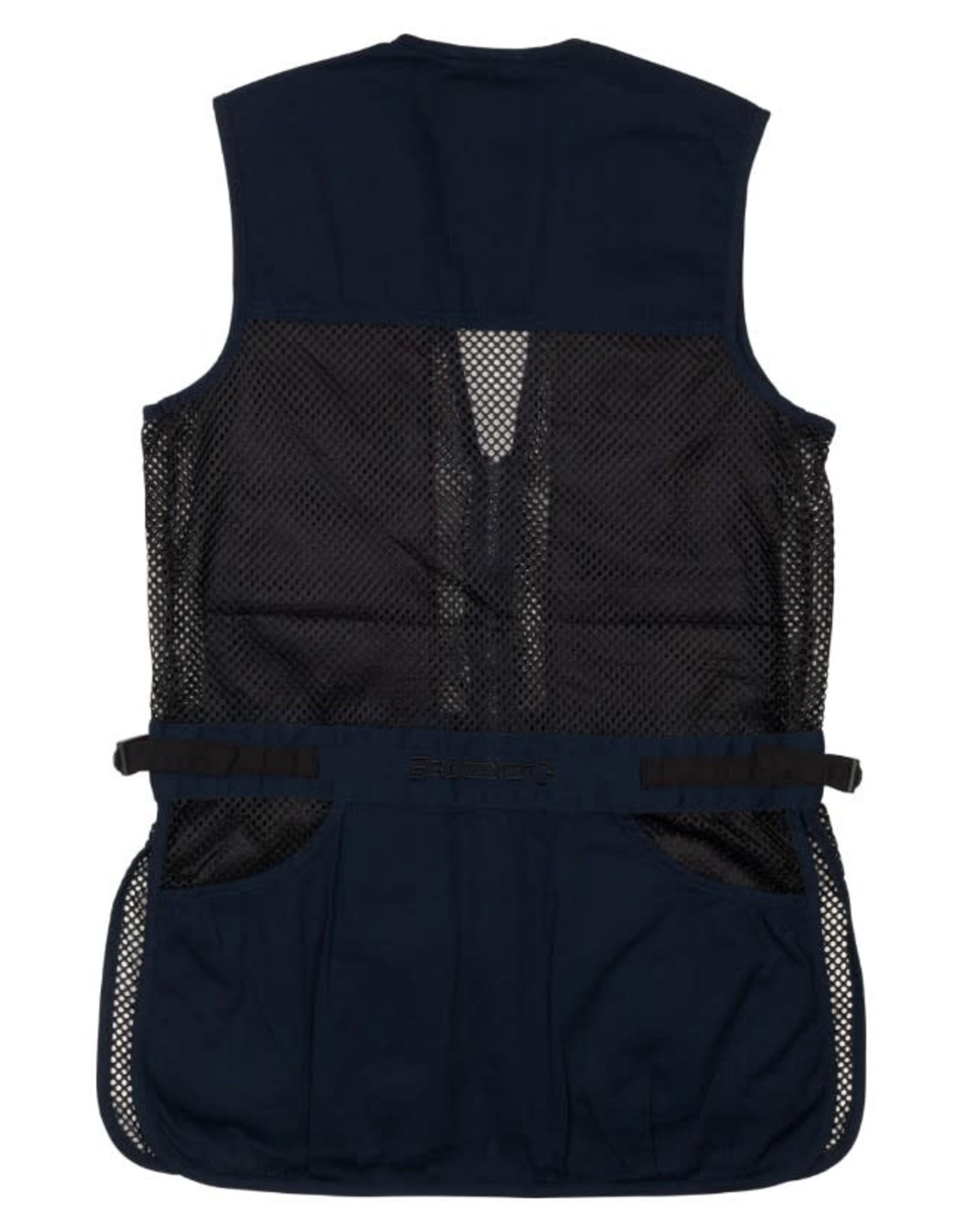 Browning Trapper Creek Junior Vest - Blk/Navy - MED