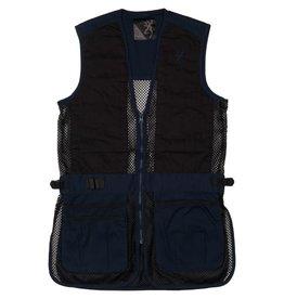 Browning Trapper Creek Junior Vest - Blk/Navy - LG
