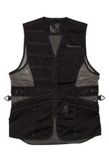 Browning Ace Shooting Vest for Her - Blk/Blk - LG