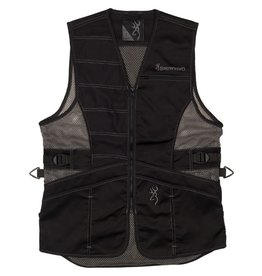 Browning Ace Shooting Vest for Her - Blk/Blk - 2XL