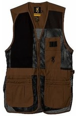 Browning Trapper Creek Vest - Blk & Clay - XL