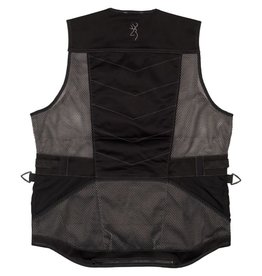 Browning Ace Shooting Vest - Black - LG