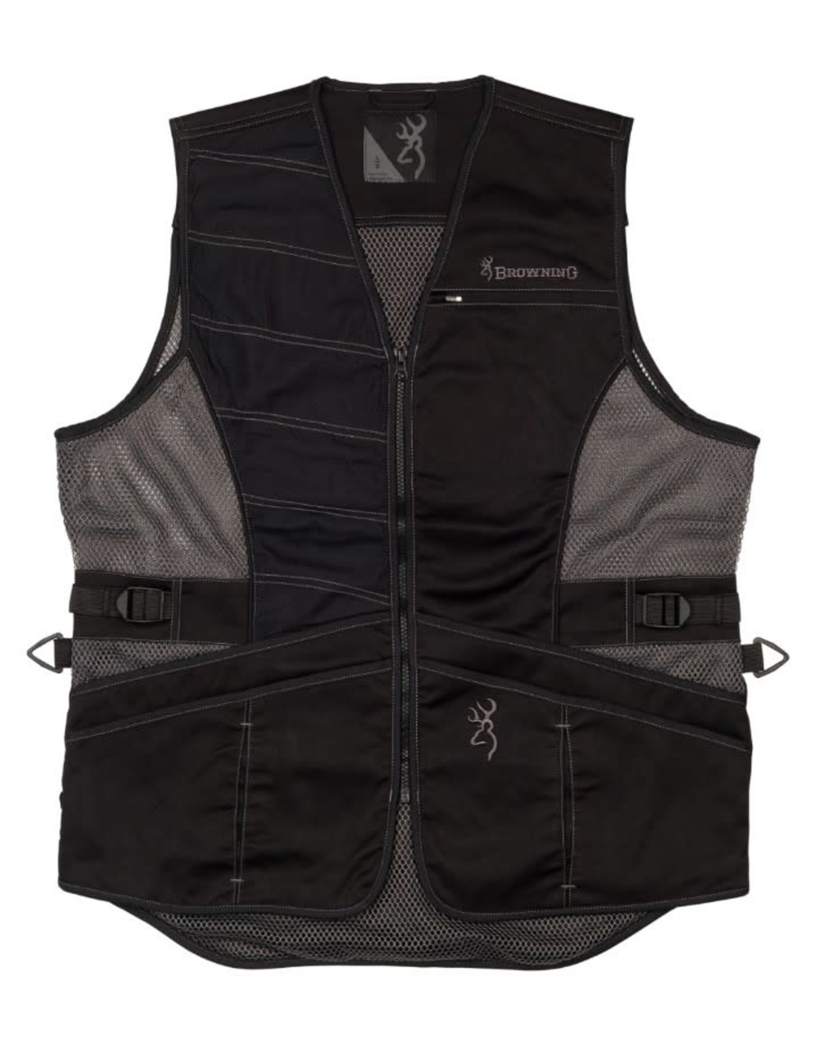 Browning Ace Shooting Vest - Black - 3XL