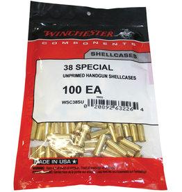 WINCHESTER AMMO Winchester .38 Spl Unprimed Shellcases - 100 Count