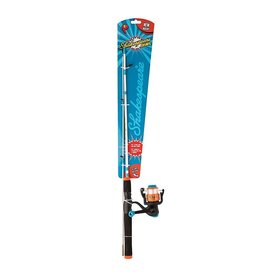 """Shakespeare Shakespeare COSMICO46SPCBO Cosmic Spinning Combo, 4'6"""" 2-piece rod and reel combo, prespooled with 6lb. line, reel size 30,"""