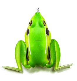 "Lunkerhunt Lunkerhunt LF09 Lunker Frog Hollow Body Frog, 2 1/4"" at Rest/4 1/2"