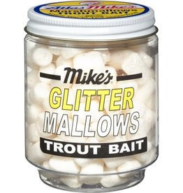 Mike's Mike's White/Anise Glitter Mallows 1.5oz Jar