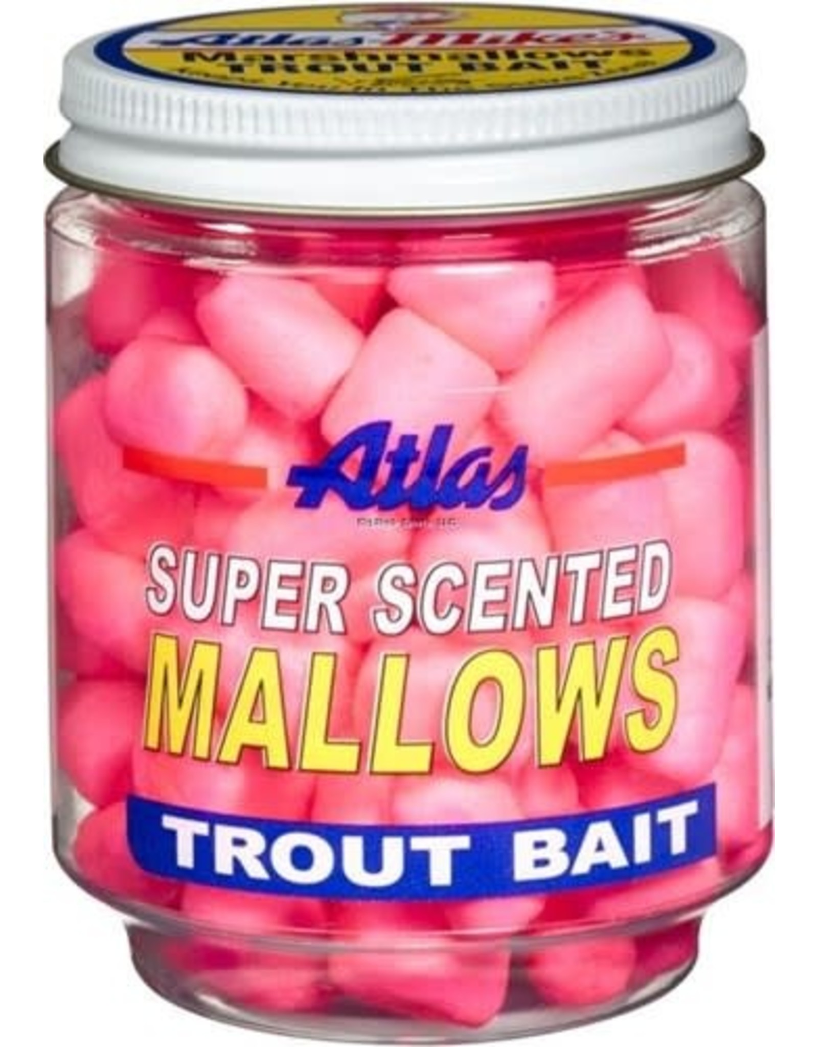 Atlas Atlas Super Scented Marshmellows Pink/Shrimp