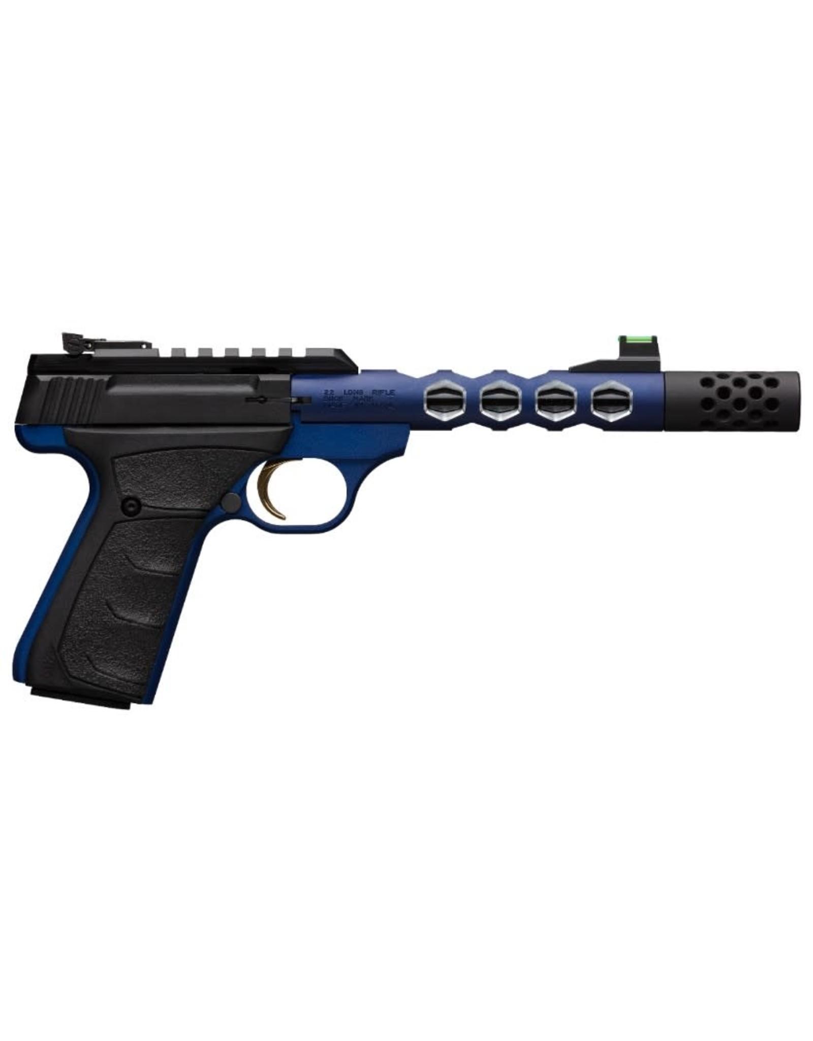 "Browning Buckmark Plus Vision UFX Blue .22 LR 5.5"" bbl 10+1 Round"