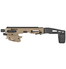 Command Arms MCK 2.0 Conv. Kit -  Glock 17,19,19x,22,23,25,31,32,45 Synthetic FDE