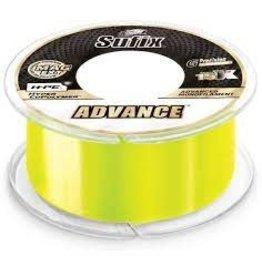 Suffix Advance Monofilament 8# 330 Yards Neon Lime
