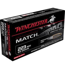 WINCHESTER AMMO Winchester Match .223 Rem 69 Gr Matchking HPBT - 20 Count