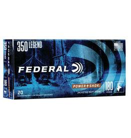 Federal Power Shok 350 Legend 180 Gr JSP - 20 Count