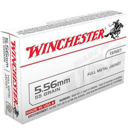 WINCHESTER Winchester 5.56 55 GR 3180 FPS FMJ - 20 Count