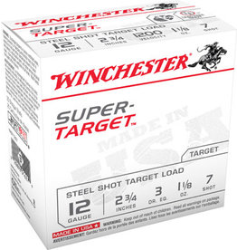 """WINCHESTER AMMUNITION Winchester Lead Free 12 ga 2-3/4"""" 1-1/8 Oz #7 1200 FPS - 25 Count"""