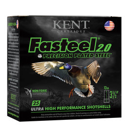 """Kent Fasteel 2.0 12 ga 3-1/2"""" 1-3/8 Oz #BBB 1550 FPS - 25 Count"""