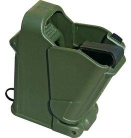 MAGLULA UpLula Universal Pistol Magazine Loader 9mm-45 ACP - OD Green