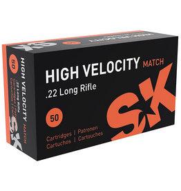 SK .22 LR High Velocity Match 40 gr 1263 FPS - 50 Count