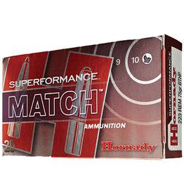 Hornady Hornady .223 Rem Superformance Match 75 gr BTHP - 20 Count