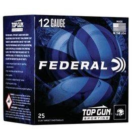 "Federal Federal Top Gun 12 ga 2-3/4"" 1-1/8 Oz #7.5 1145 FPS - 25 Count"