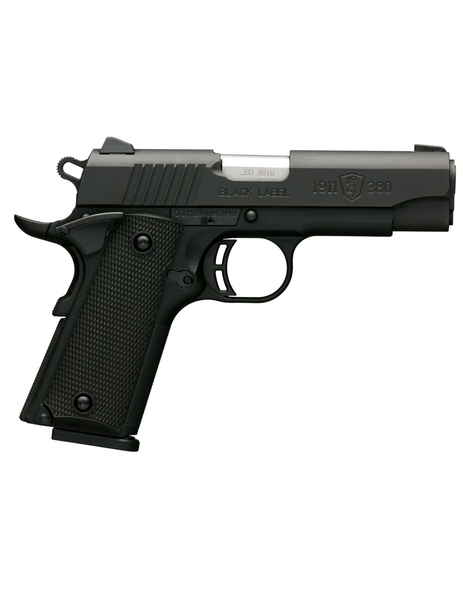 """Browning Browning 1911-380 Compact .380 ACP 3.63"""" bbl 8+1 Round"""