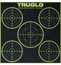 truglo TruGlo Target 5-Bull Green Gr 12x12 6Pk