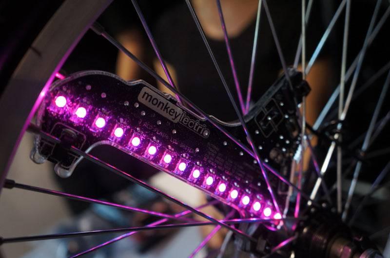 Luces para las ruedas