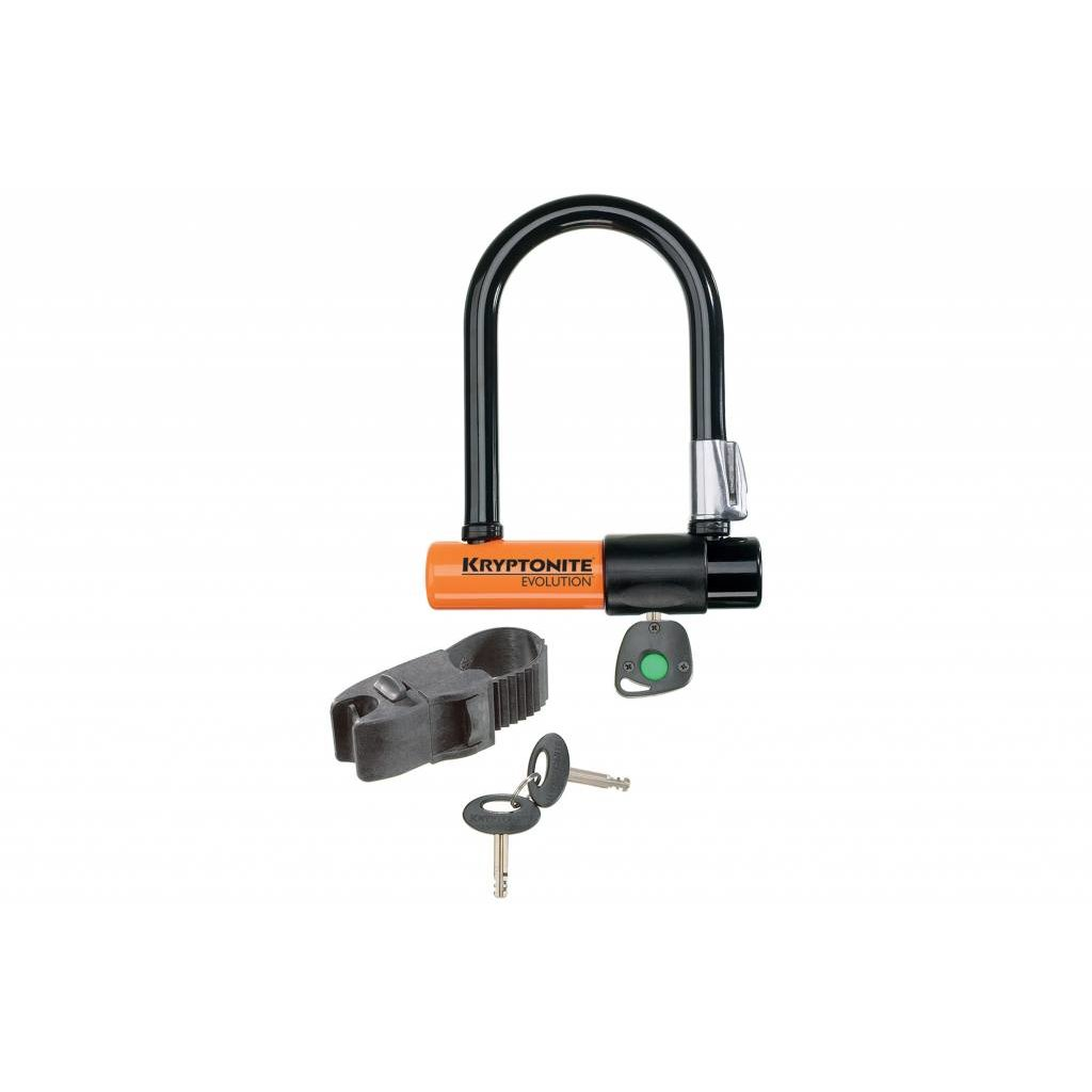 Kryptonite LOCKS U-LOCK KRYPTONITE EVOLUTION MINI-5 3.25x5.5 wBRT (H)