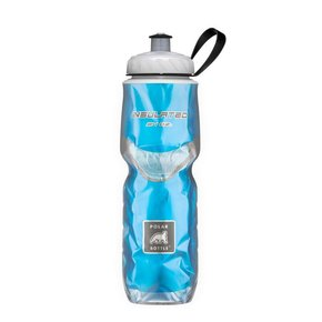 WATER BOTTLE Polar Insulated 24oz, Blue Carbon