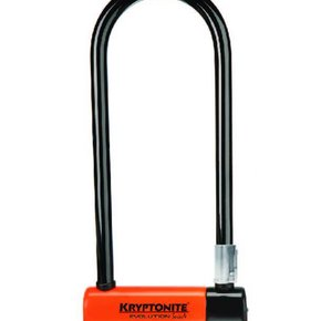 LOCKS U-LOCK Kryptonite Evolution LS (DD) 101x292mm 4''x11.5'' 14mm Orange